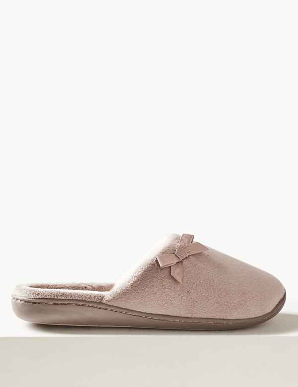 fb453f0c663764 Bow Mule Slippers