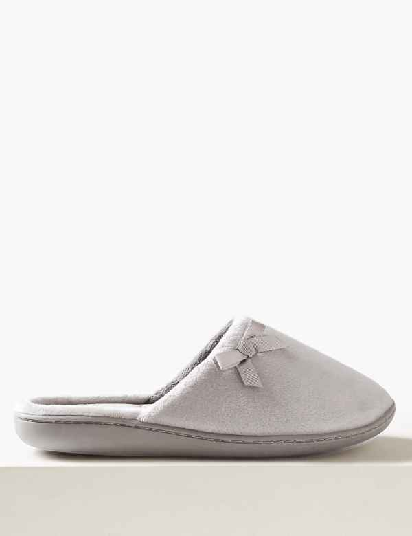 491075be39 Bow Mule Slippers