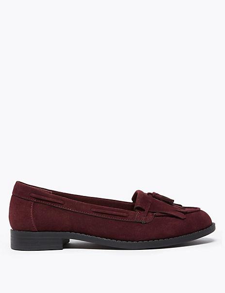 Tassel Slip On Loafers
