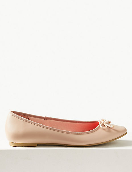 Bow Ballerina Pumps