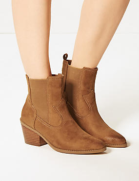 Chelsea Western Ankle Boots