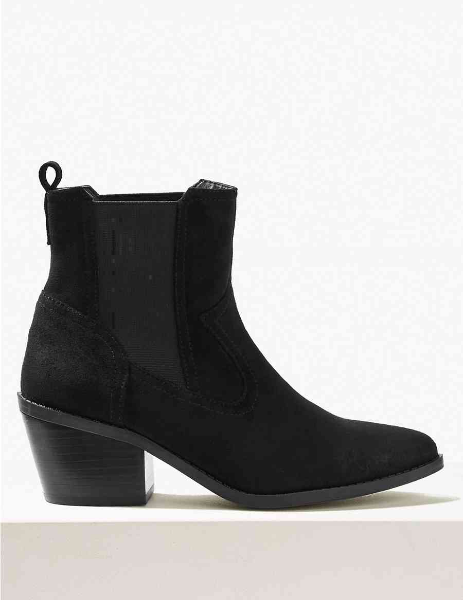 43360f4e8a2 Chelsea Western Ankle Boots