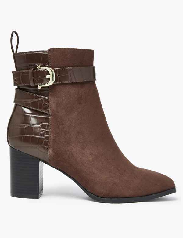 7a9dfddc5fd Womens Ankle Boots | M&S