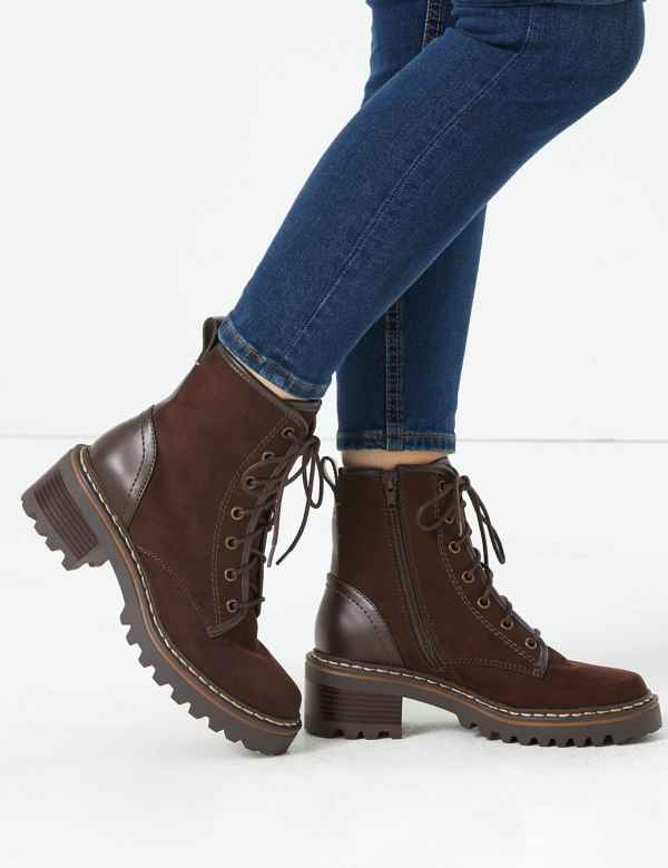 8cb7dba77d5 Womens Synthetic Shoes & Boots  M&S