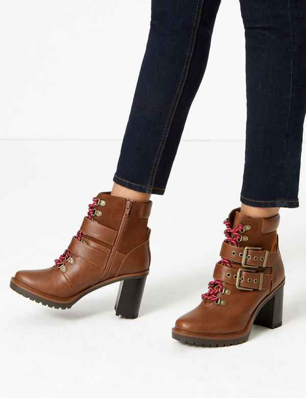 3f213230344 M&S Collection Women's Shoes | Ankle Boots | M&S