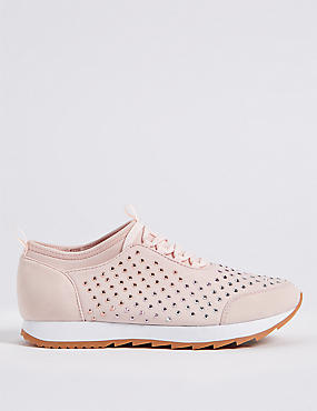 Lace-up Trainers with Insolia®