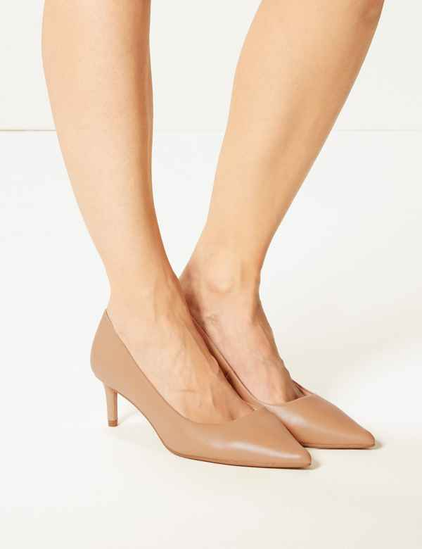 f6cc8a617eb ... Kitten Heel Court Shoes. Wide Fit