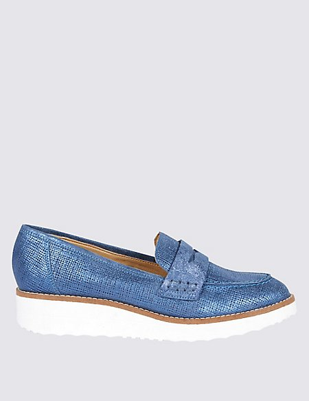 Leather Loafers with Insolia Flex®