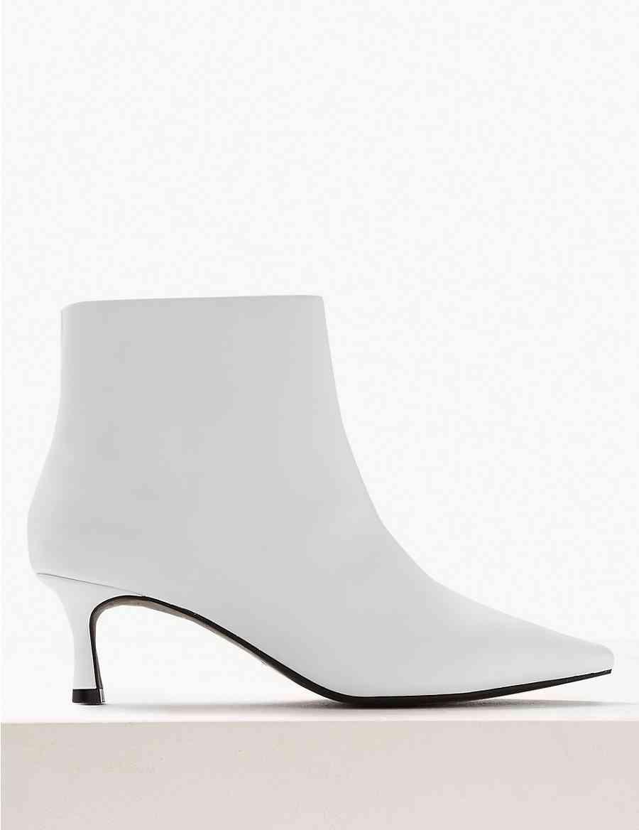 660dd43c7f77 Wide Fit Kitten Heel Ankle Boots