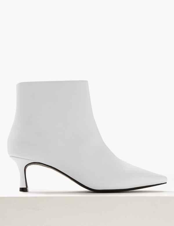 Wide Fit Kitten Heel Ankle Boots 5813aad77
