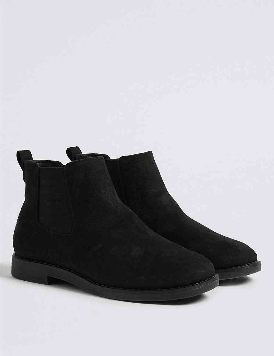 034ad3bf748 Extra Wide Fit Chelsea Ankle Boots
