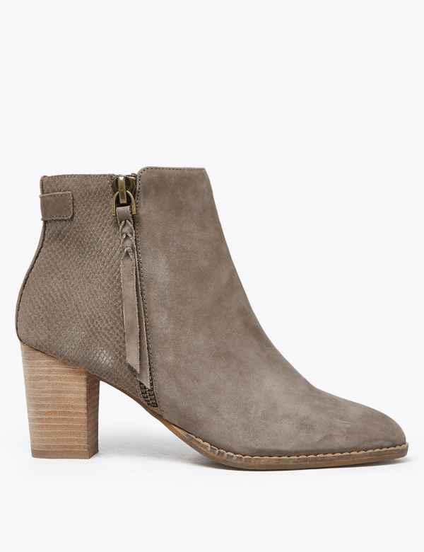 4f03ea38a2f Womens Block Heel Shoes & Boots  M&S