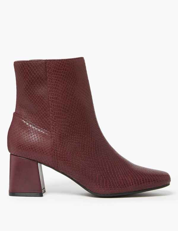 ec7fc6bd03e Womens Red Shoes & Boots | Burgundy & Maroon Shoes |M&S| M&S