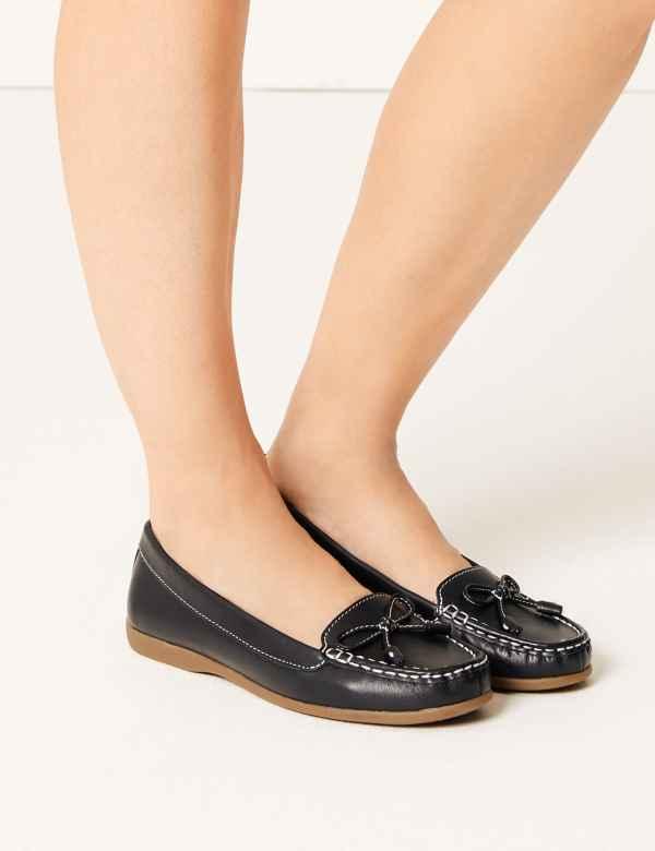 d6766cf7d18 Womens Flat Heel Shoes & Boots| M&S