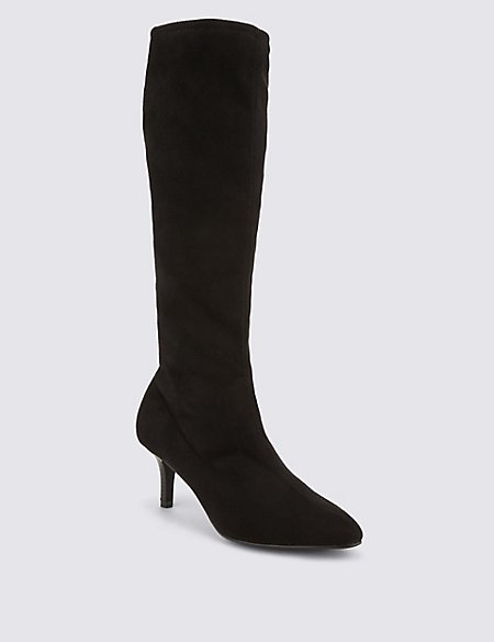 15418f4afe4 Product images. Skip Carousel. Kitten Heel Knee High Boots ...