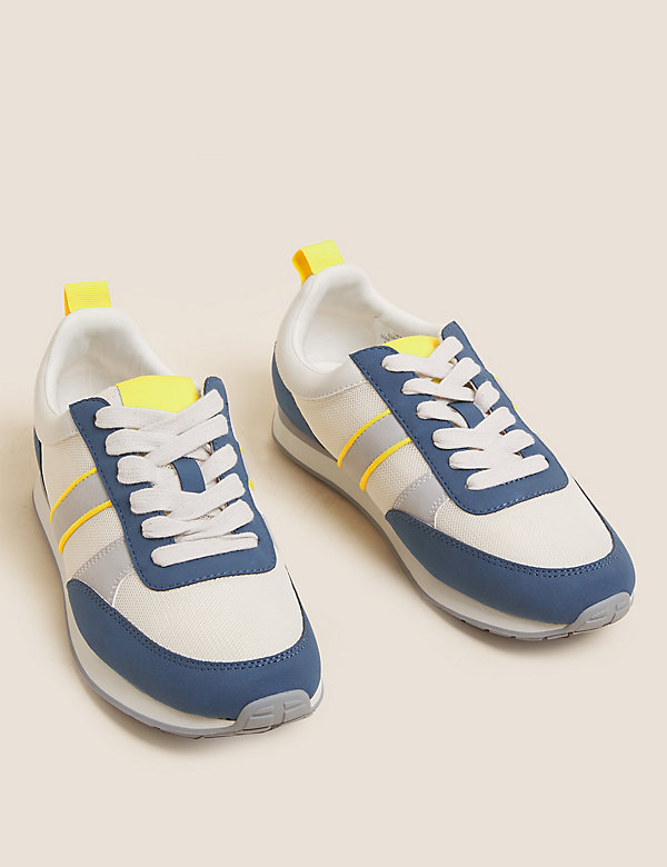 The Retro Lace-Up Trainers