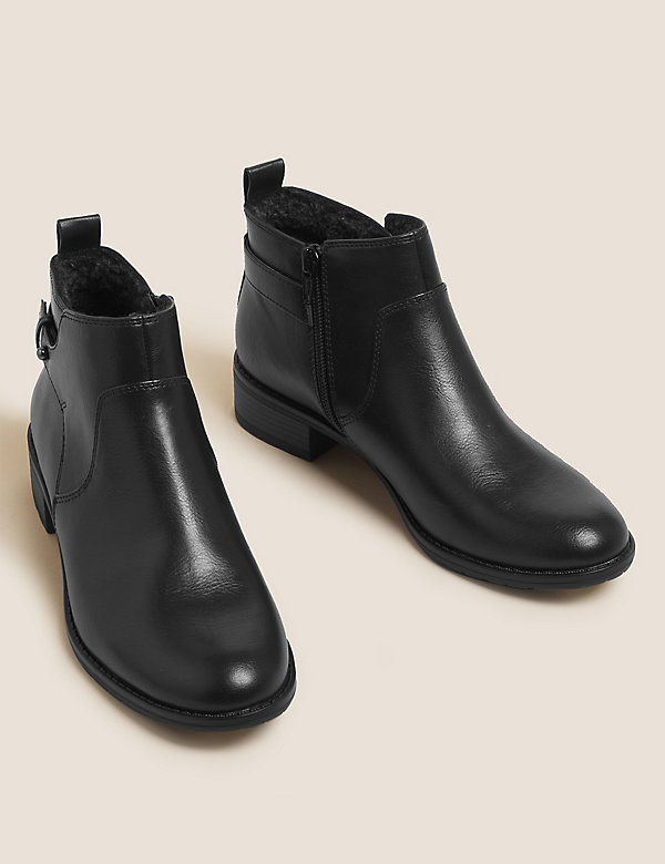 Flat Ankle Boots