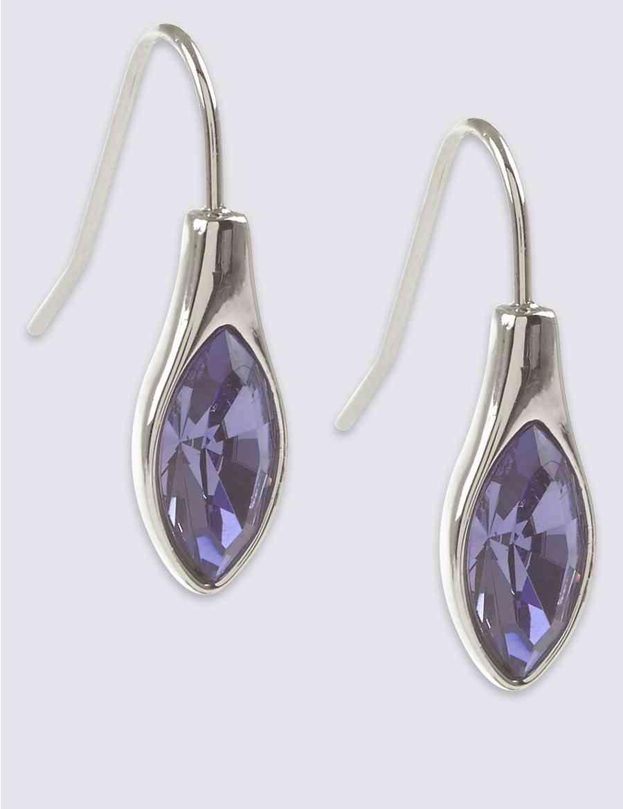 Teardrop Earrings with Swarovski® Crystals  f326da30bcf8