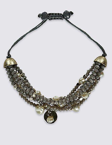 Sweet Pea Charm Bracelet
