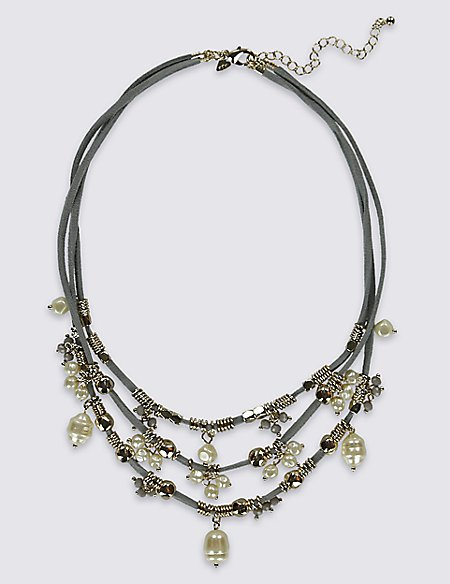 Sweet Pea Charms Necklace