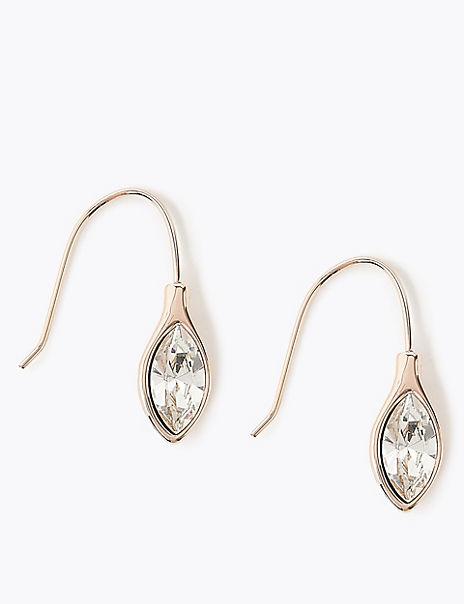 Navette Drop Earrings