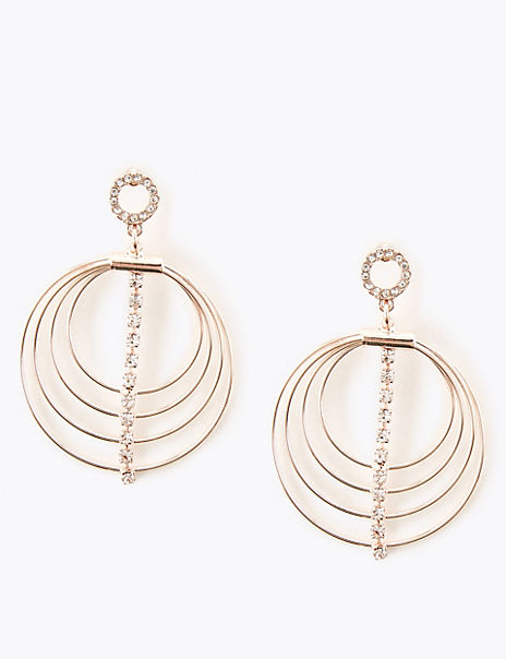 Multi-Circle Drop Earring