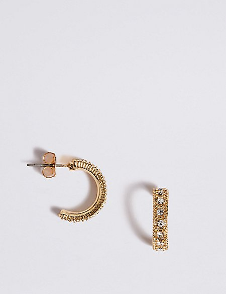 Sparkle Hoop Earrings