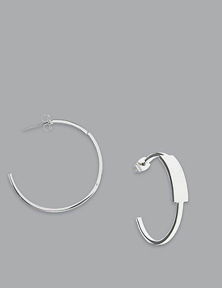 Fine Hoop Earrings