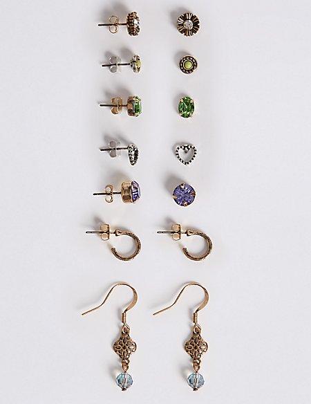 Mixed Explorer Earrings Set