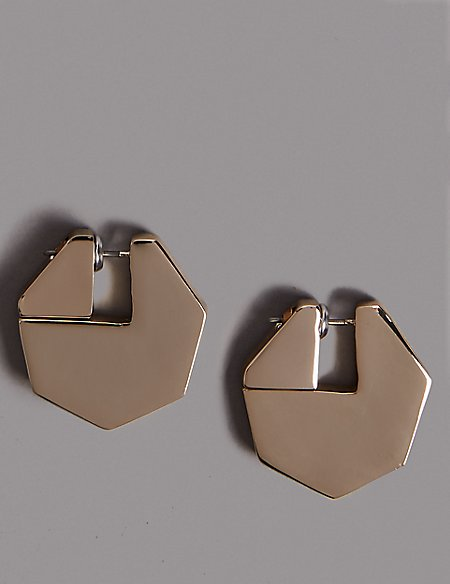 Sharp Shape Stud Earrings