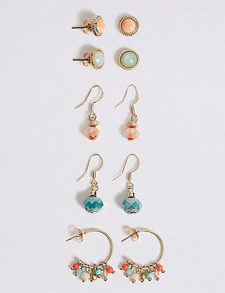 Multi Pack Earrings Set