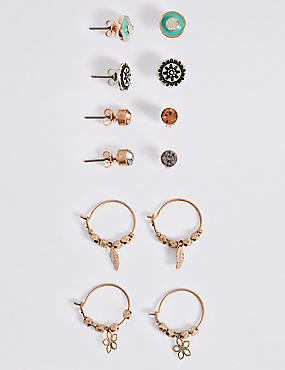 Spice Mixed Multi Pack Earrings Set
