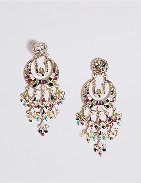 Opulent Charm Drop Earrings