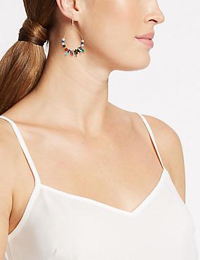 Charmed Hoop Earrings