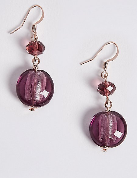 Berry Droplet Earrings