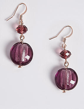 Berry Droplet Earrings
