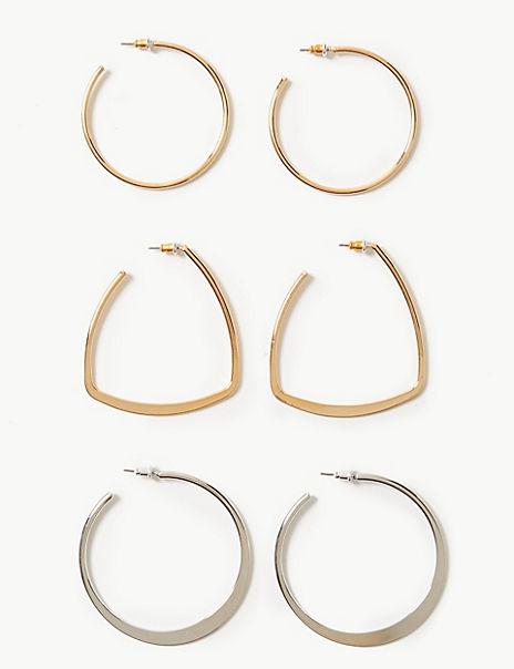 Multi Pack Hoop Earrings