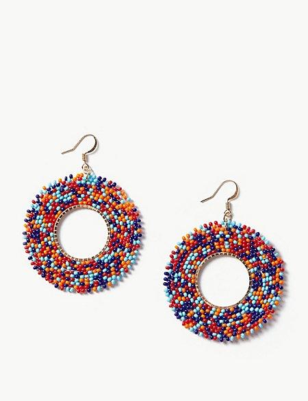Multi-Colour Hoop Earrings