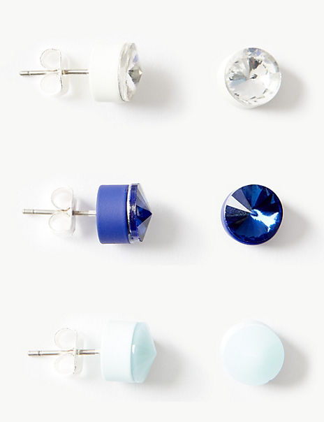 Multi Pack Stud Earrings