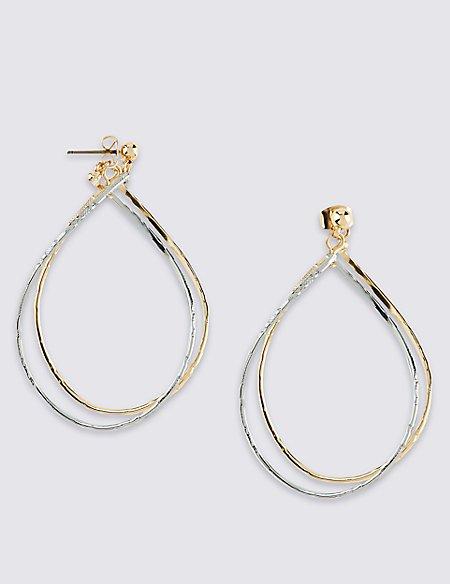 Link Teardrop Earrings