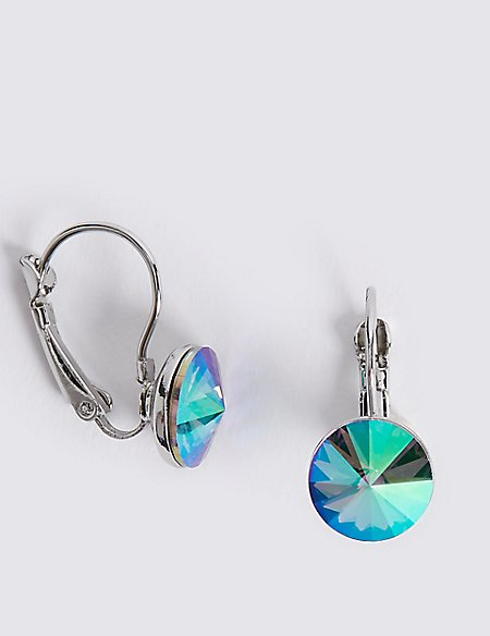 Glamorous Drop Earrings with Swarovski® Crystals