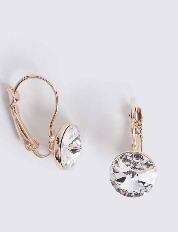 c60b1e13d14d Glamorous Drop Earrings with Swarovski® Crystals
