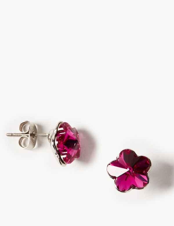 d8bdf772d8ec Stud Earrings with Swarovski® Crystals