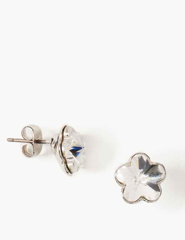 0ccc0e9b847 Stud Earrings with Swarovski® Crystals