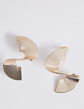 Twisted Wave Earrings
