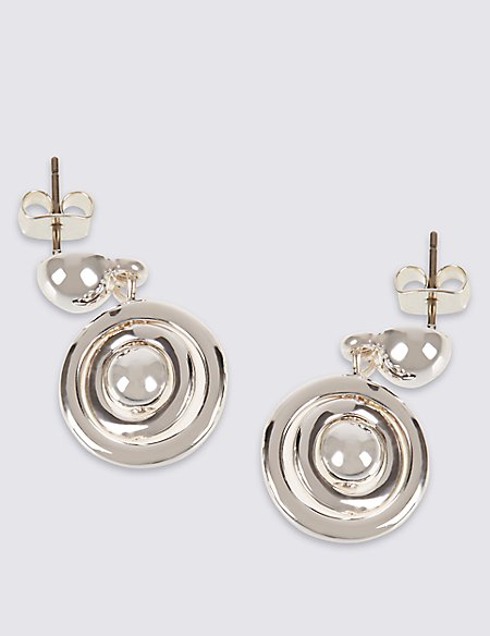 Spinning Bead Drop Earrings