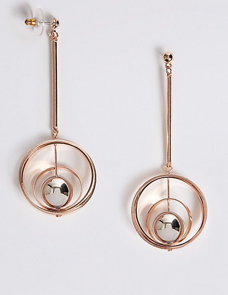 Orbital Spheres Earrings