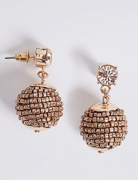 Bobble Drop Earrings