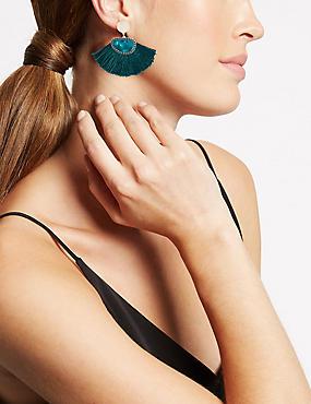 Fan Drop Earrings