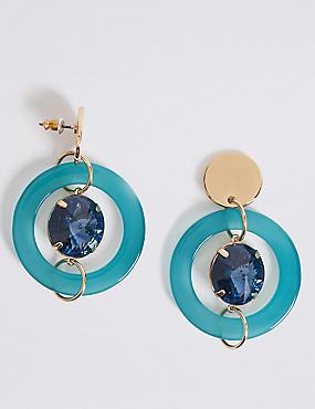 Gem Drop Earrings